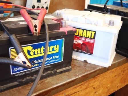 Batteries charging